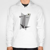 kandinsky Hoodies featuring Black Is by Amy Newhouse