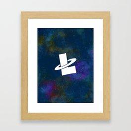 Lunar Bistro Logo Framed Art Print