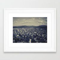 europe Framed Art Prints featuring Europe  by Luis Jimenez