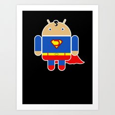 Super Droid Art Print