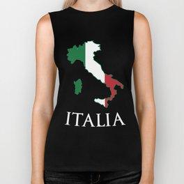 Italy-Italia Biker Tank
