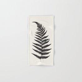 Minimal Fern Leaf Hand & Bath Towel