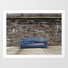 sofa free Art Print