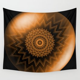 Sacral Orange   Chakra Wall Tapestry