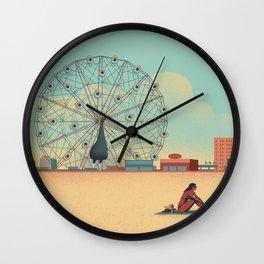 Urban Wildlife - Peacock Wall Clock