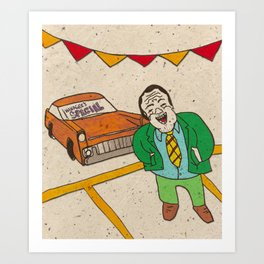 Managers Special! Art Print