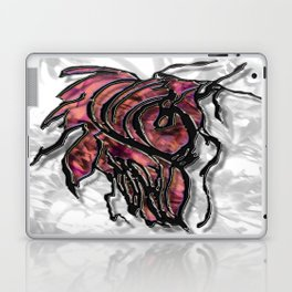 Push Forward with Courage Laptop & iPad Skin