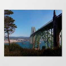 Cross Over Into Paradise Canvas Print