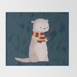 Harry Pawter Throw Blanket