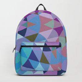 Lavender Retro Geometry Backpack