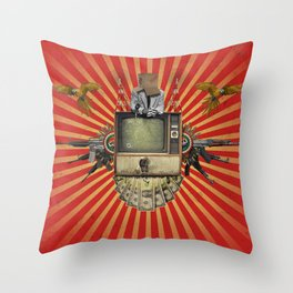 The Revolution Will Not Be Televised! Throw Pillow