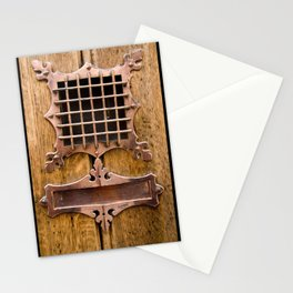 Brass Letterbox Stationery Cards