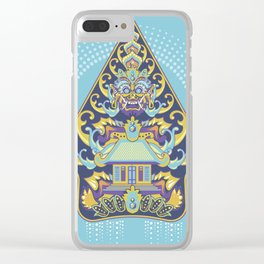 Wayang Barong Clear iPhone Case