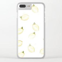 Lemony Clear iPhone Case