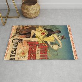 L Amant Des Danseuses Roman Moderniste Par F Licien Champsaur 1888 By Jules Cheret | Reproduction Ar Rug