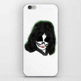 Kiss Criss Rock Icon Silhouette iPhone Skin