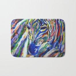Zesty Zebra Bath Mat