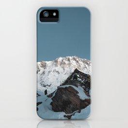 Annapurna Base Camp iPhone Case