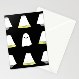 Ghost Lamp/Black Stationery Cards