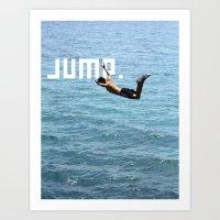 J.U.M.P. Art Print