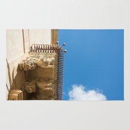 Balcony Sicily architecture Rug