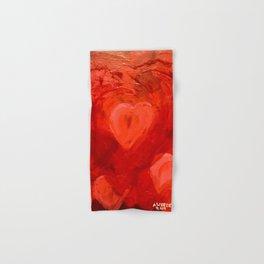 """""""Many Hearts"""" Hand & Bath Towel"""