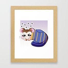 Snoozer. Framed Art Print