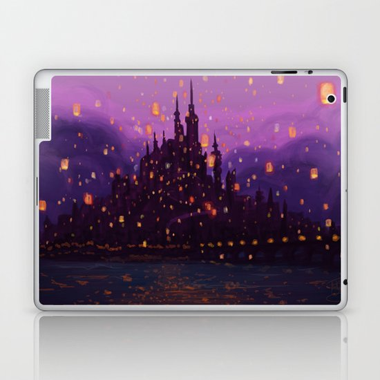 Portrait of a Kingdom: Corona  Laptop & iPad Skin