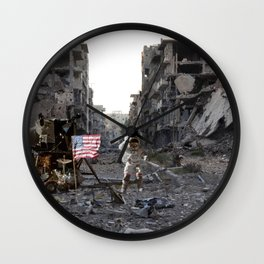 Mission to Syria Wall Clock