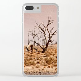 NAMIBIA ... pastel tones IV Clear iPhone Case