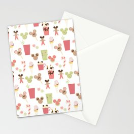 Christmas Magic Food Stationery Cards