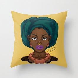 Gele Throw Pillow