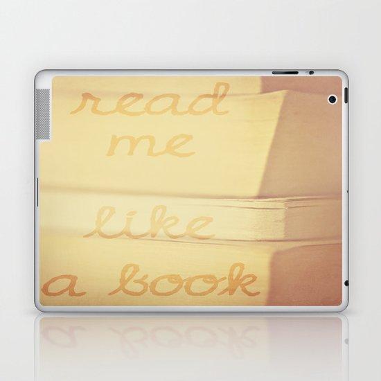 Read Me Laptop & iPad Skin