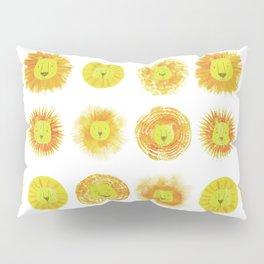 Lion heads Pillow Sham