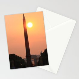Love is like a Sunset Stationery Cards
