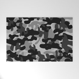 Camouflage (Gray) Welcome Mat