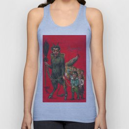 Krampus Unisex Tank Top