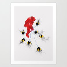 Mario's Hurt Locker Art Print