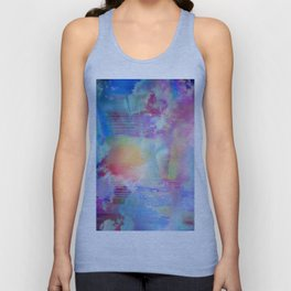 You Are entering a beautiful place called heaven  by Sherriofpalmsprings Unisex Tank Top