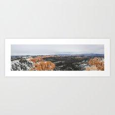Bryce Canyon. Art Print