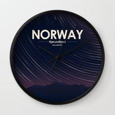 Alone In Nature - Stellardrone Wall Clock