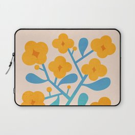 Abstraction_Floral_Blossom_02 Laptop Sleeve