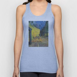 Vincent van Gogh - Cafe Terrace at Night Unisex Tank Top