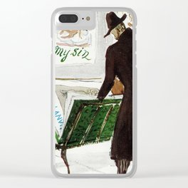 The Art Collector Clear iPhone Case