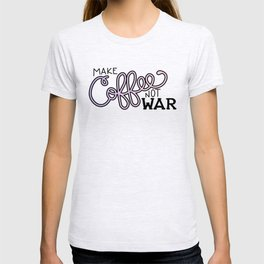 Coffee Not War (Unicorn) T-shirt