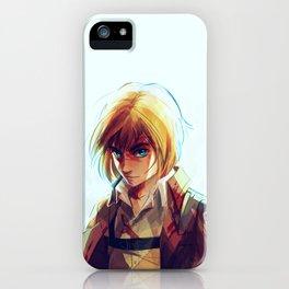 Armin Arlert iPhone Case