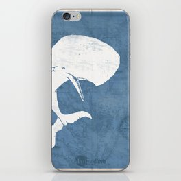 Moby Dick Poster Design iPhone Skin