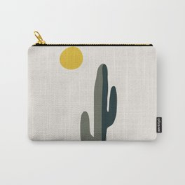 Cactus and the Rising Sun Carry-All Pouch