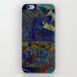 MIDNIGHT IN THE WOODS iPhone Skin
