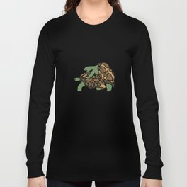 Turtle Galapagos mate love mating  Long Sleeve T-shirt